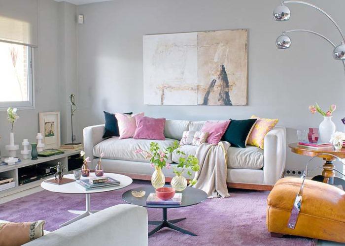 Цветовая гамма гостиной