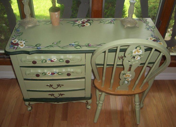 Декорирование старой мебели своими руками фото