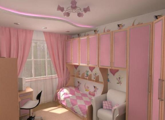Комната для девочки дизайн 8 лет