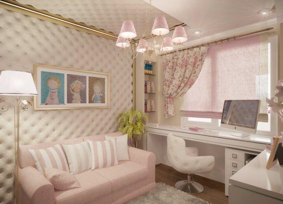 Дизайн комнаты для девочки 9 лет