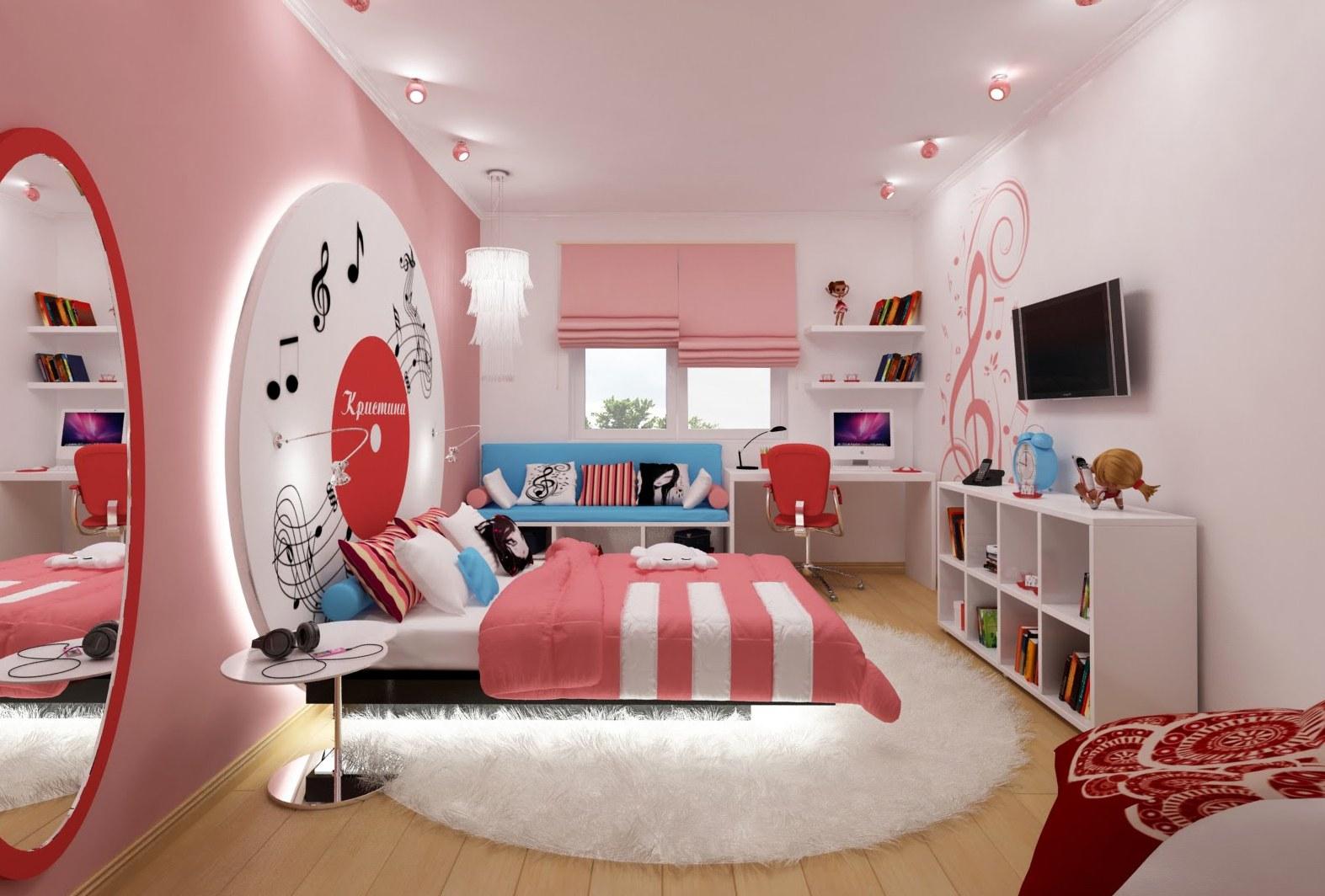комната для девочки 14 лет фото