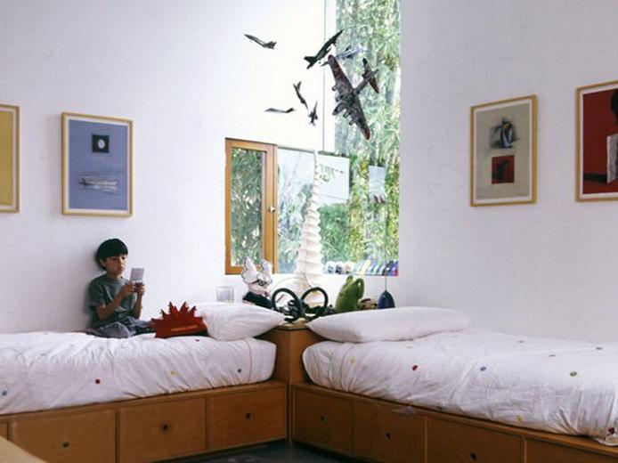 Детская комната интерьер для двух мальчиков