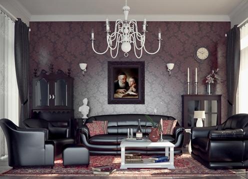 Salas estilo clasico moderno renueva tu sala con un for Decoracion estilo clasico moderno