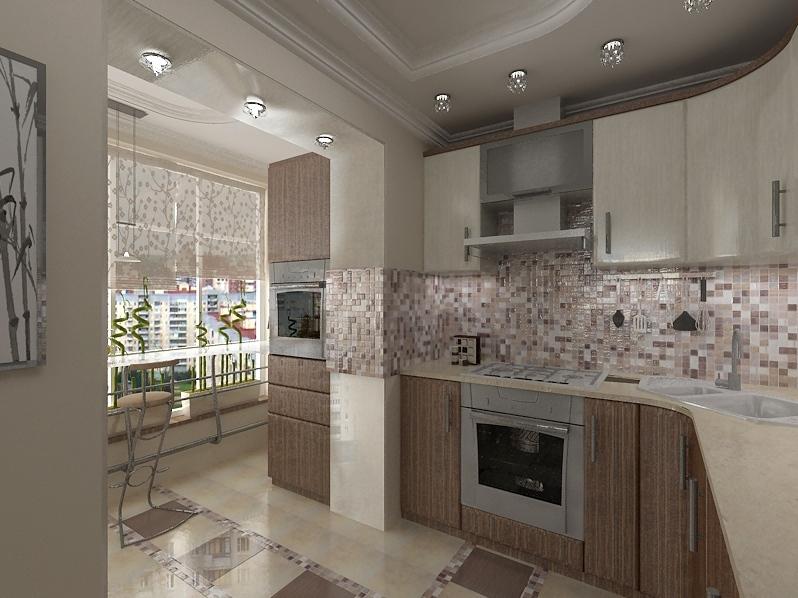 Интересные кухни дизайн