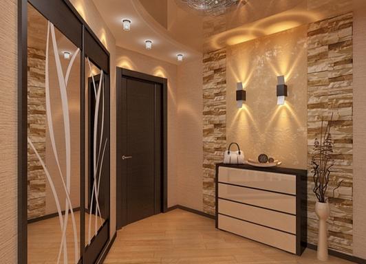 Дизайн коридора фото современные идеи