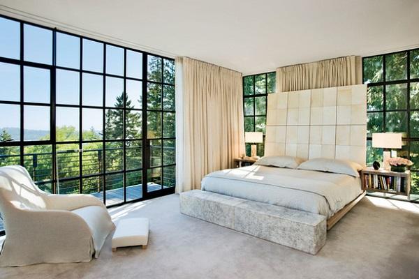Как сделать дом с панорамными окнами