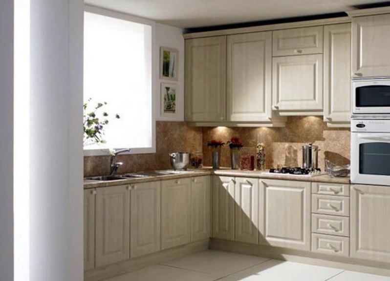 Дизайн кухни фото с окном угловые