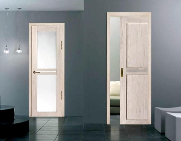 Цвет двери беленый дуб