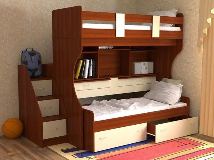 Двухэтажные кровати для детей и взрослых