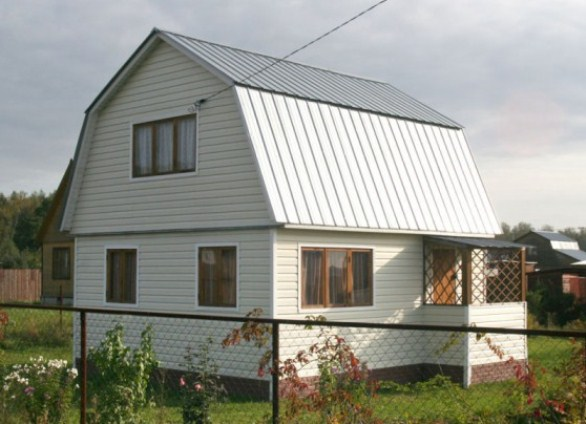 Двухскатная крыша с мансардой своими руками видео