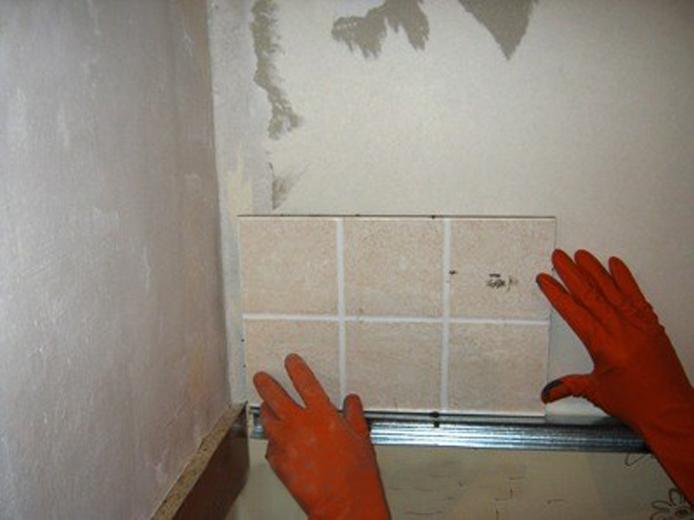 Фартук на кухне плитка своими руками