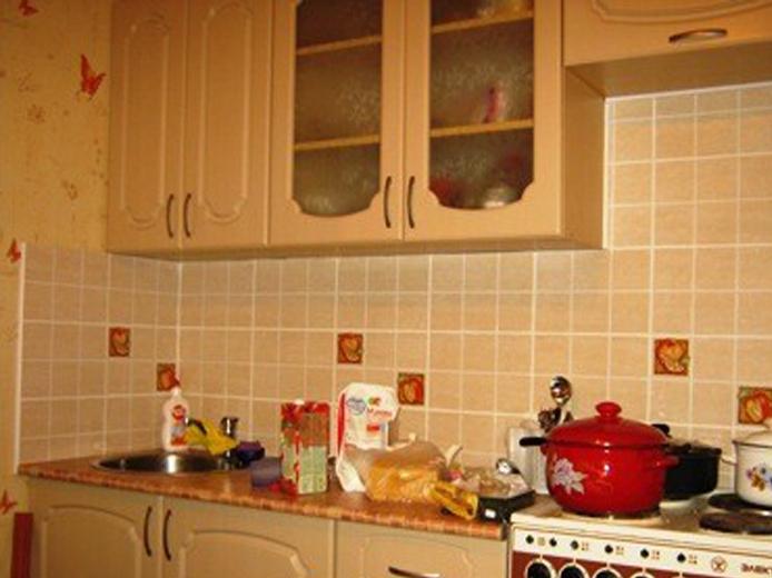 Установка фартука кухни своими руками фото