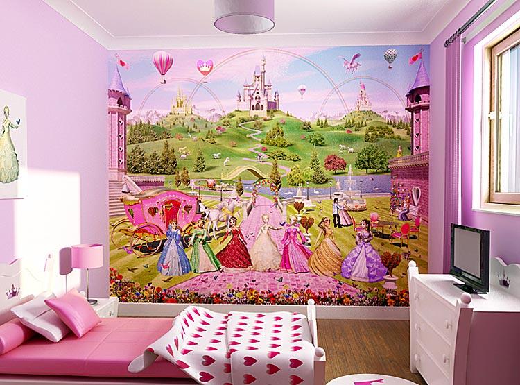 Фотообои для детской комнаты фото