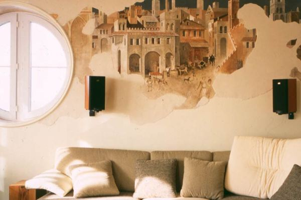 Фреска на стену своими руками мастер класс