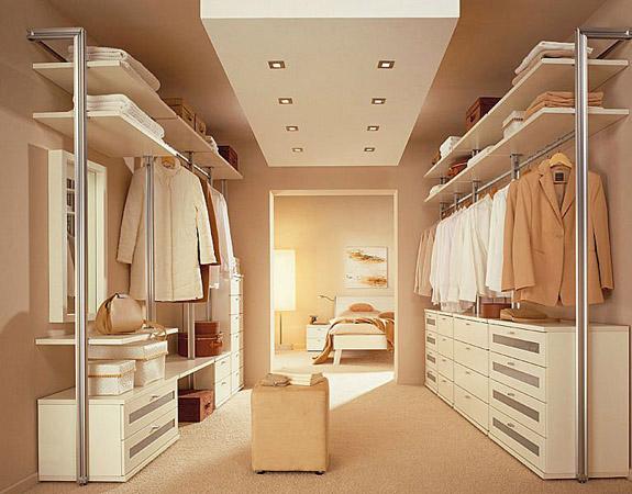 Как своими руками сделать гардеробную комнату
