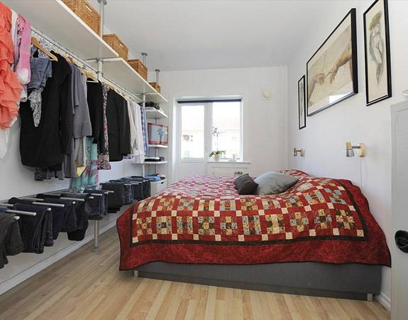 Как своими руками сделать гардеробную в спальне