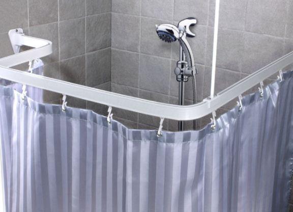 Карниз для штор в ванную комнату своими руками