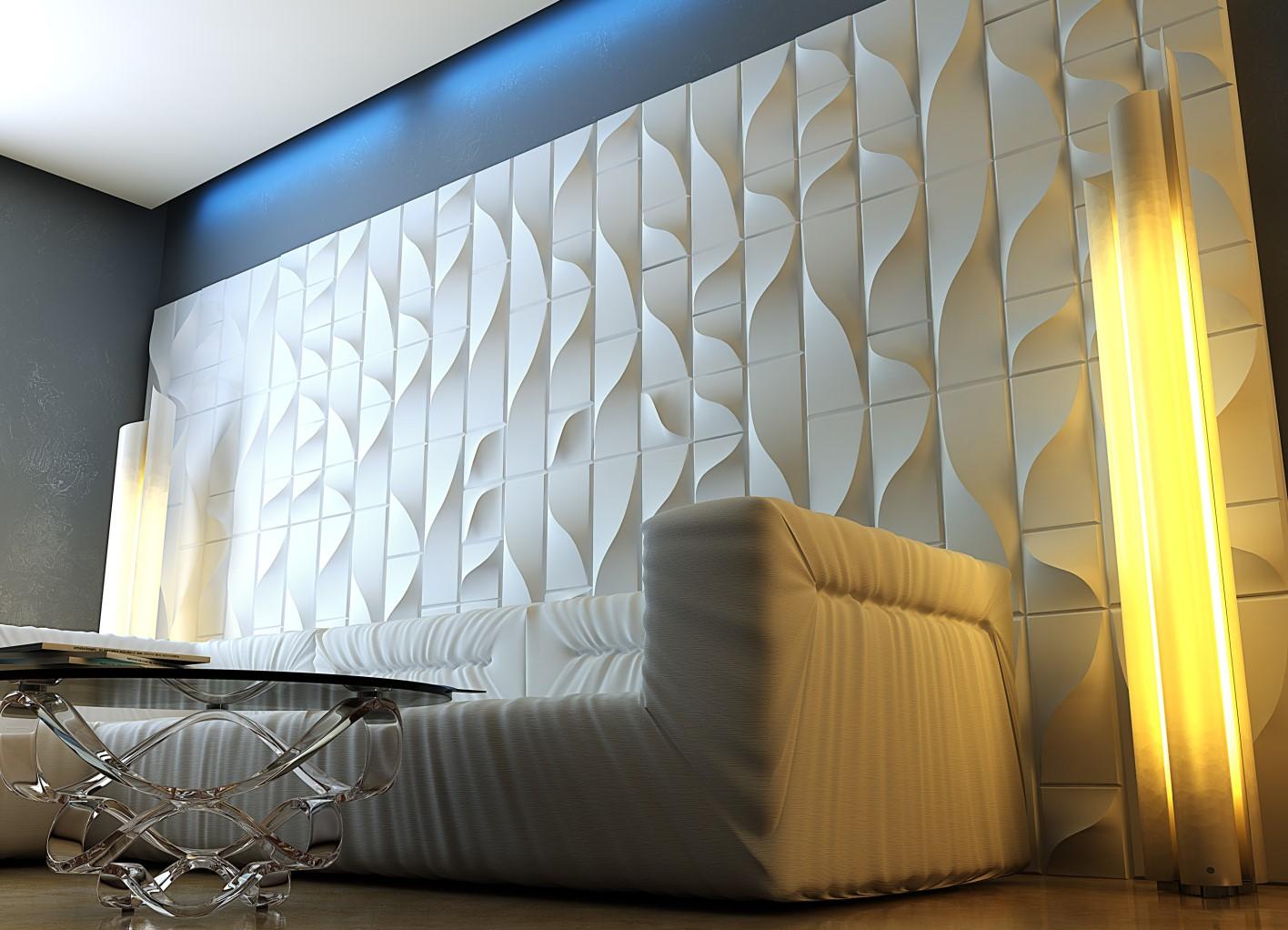 Гипсовые панели 3Д декор стен