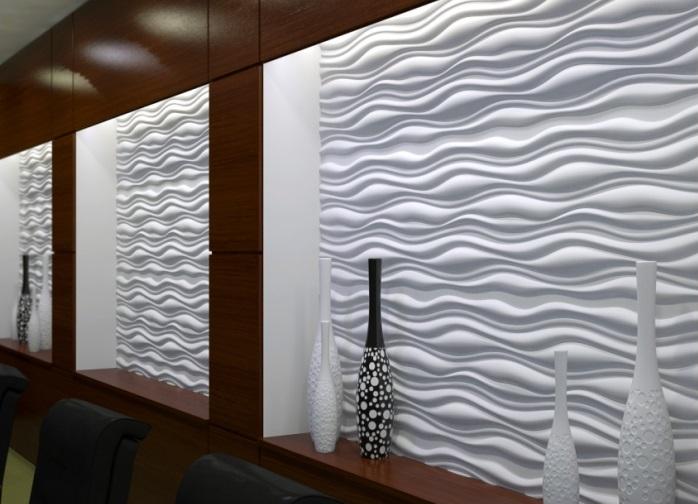 Декор стен фото 3д