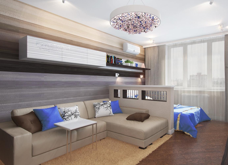 Ремонт гостиная спальня фото