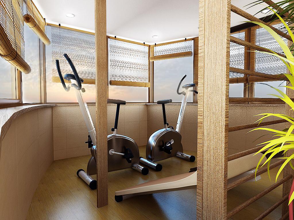 Внутренняя отделка лоджий и балконов: фото.