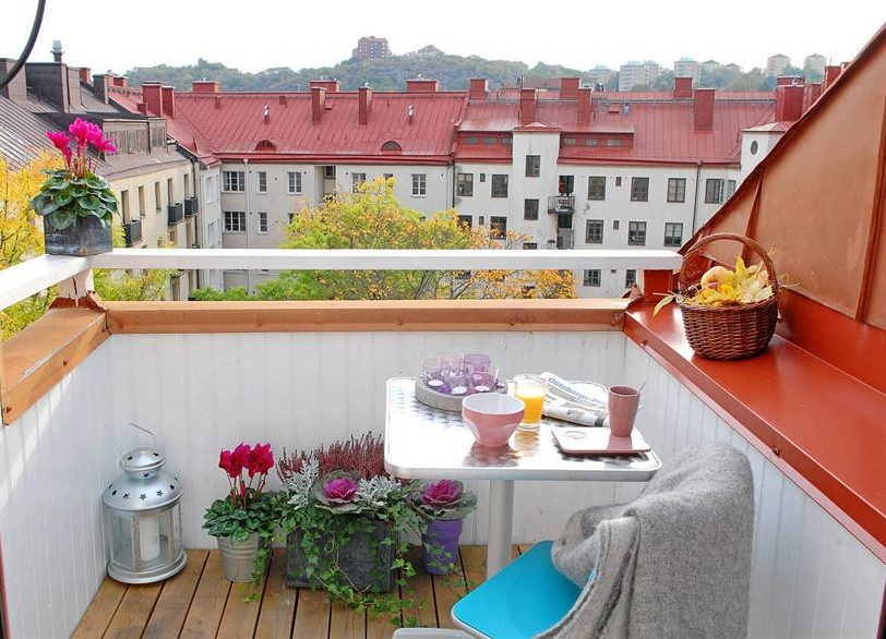 Как сделать красиво балкон в своем доме