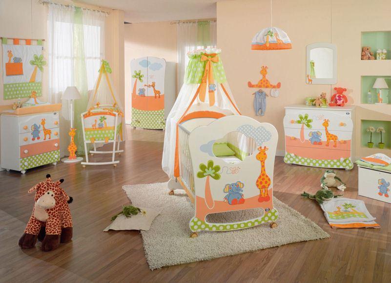 Идеи для детских спален