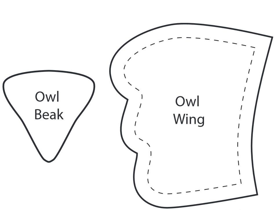 Как сшить сову своими руками выкройки для начинающих