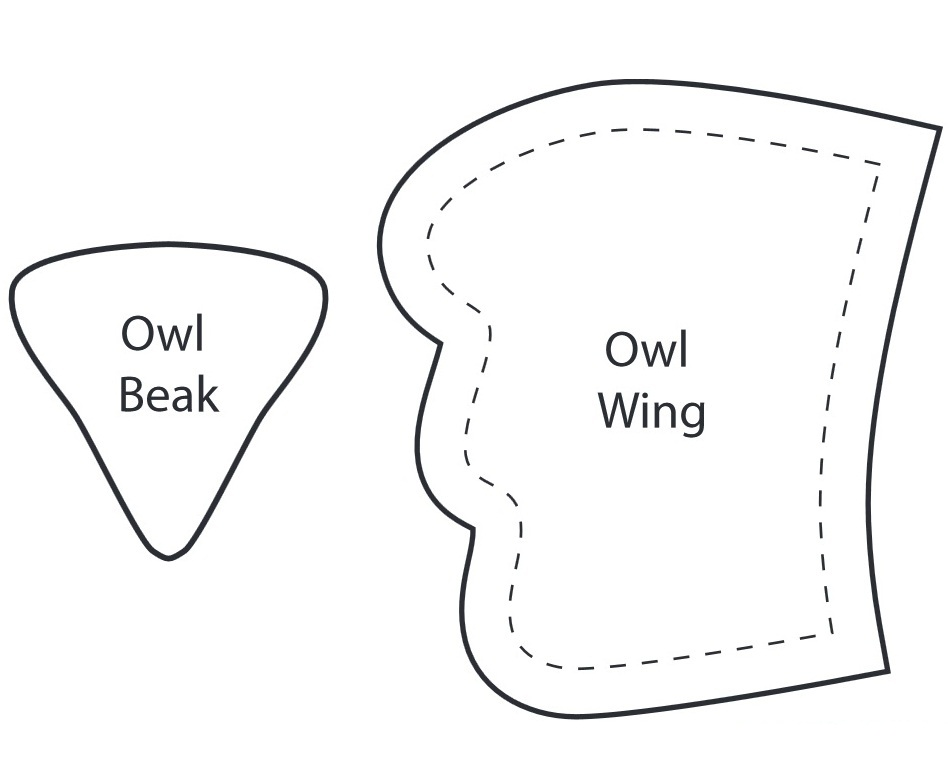 Подушка-игрушка своими руками выкройка сова