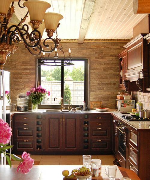 смотреть фото дизайн кухни в частном доме