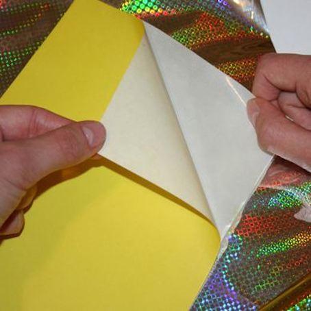 Самоклеящаяся бумага для поделок