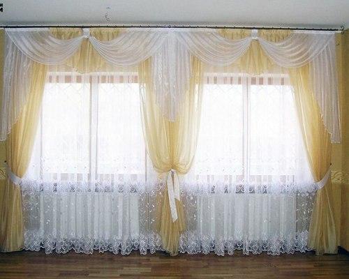 Дизайн штор фото тюль