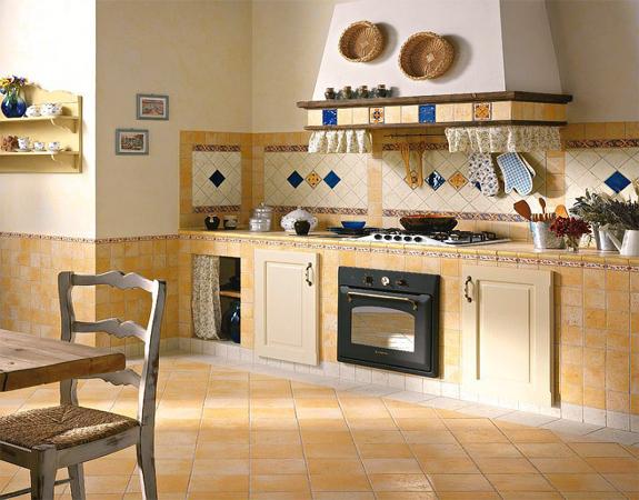 Напольная плитка для кухни2