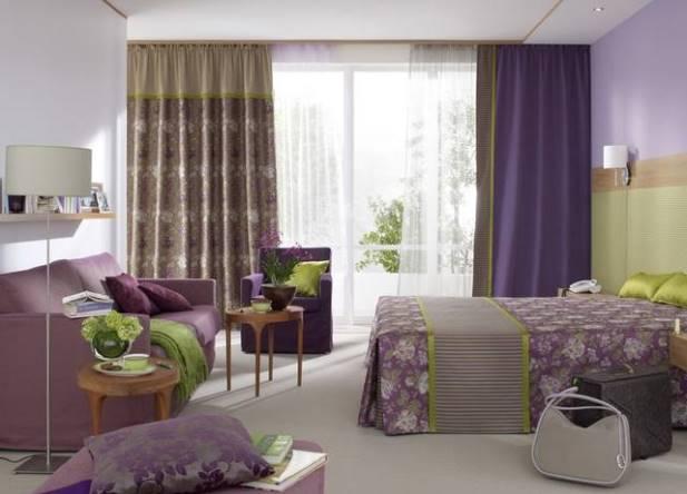 Дизайн занавесей для зала