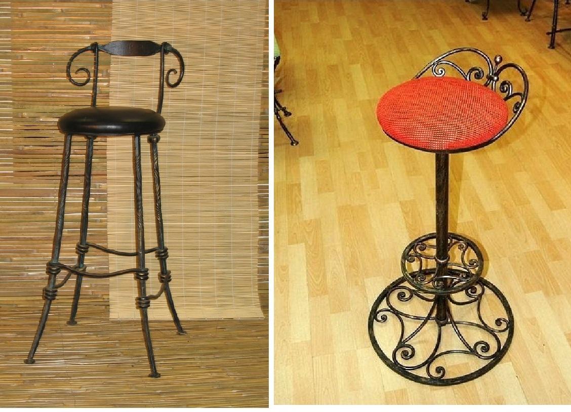 Барный стул из металла своими руками 26