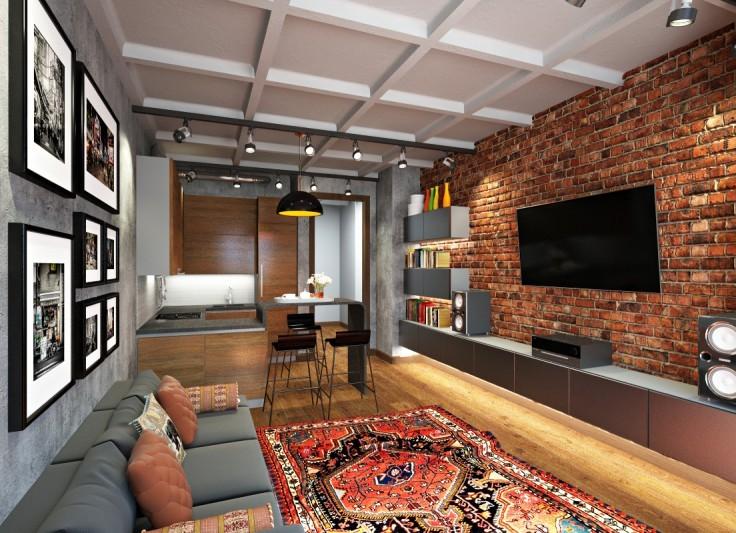 Дизайн интерьера квартиры интерьер однушки ремонт