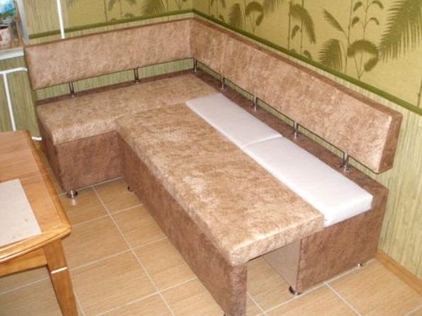 Маленький диван на кухню со спальным местом своими руками