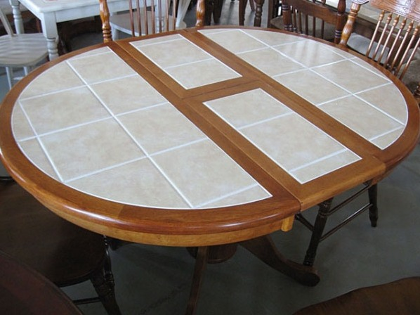 кухонные круглые столы фото