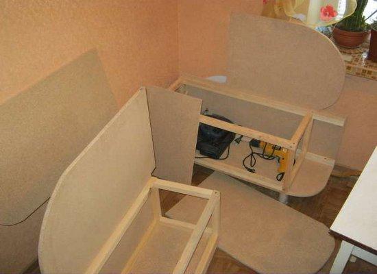 Как своими руками сделать мебель на кухню