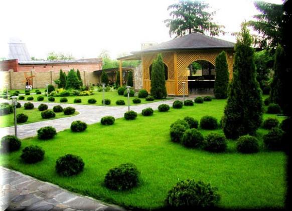 Фото дизайн ландшафтный в частном доме