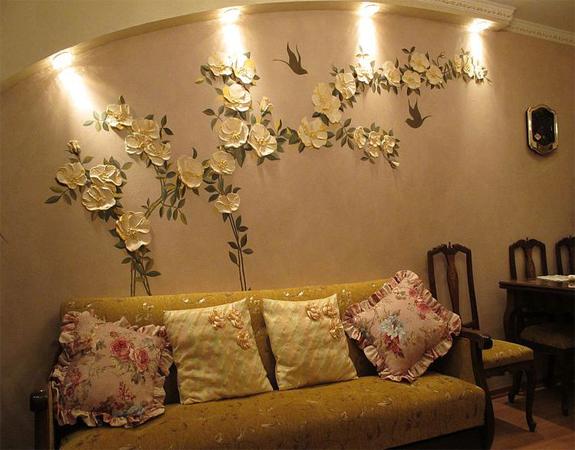 Декор лепниной стен