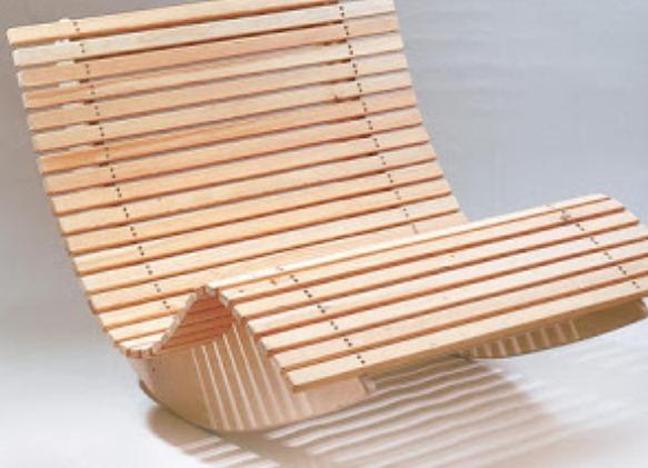 Сделать кресло из дерева