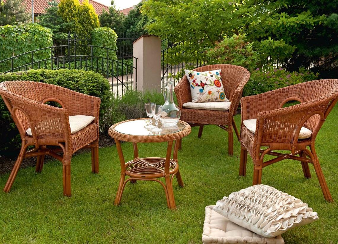 Садовая мебель своими руками изготавливается