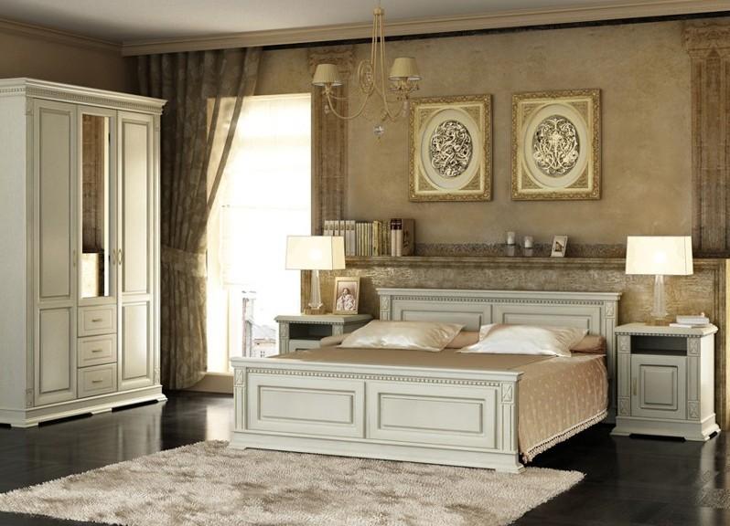 Гостиная Белый спальный гарнитур в интерьере фото