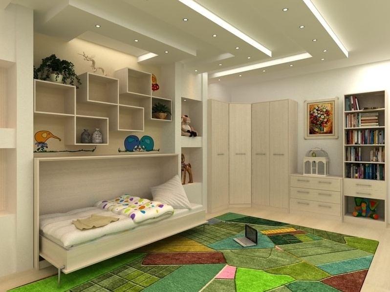 детская мебель встроенная фото