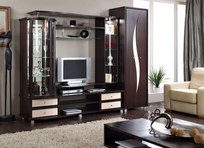 Цвет венге мебель