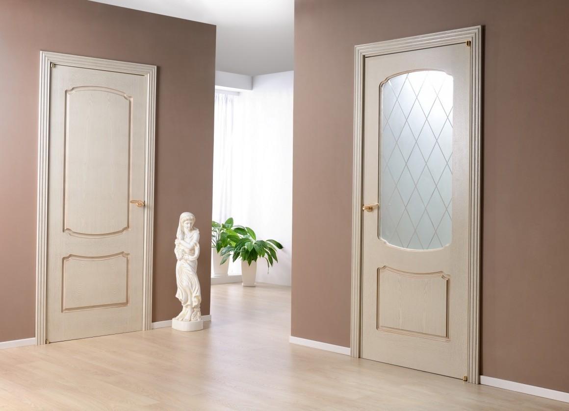Цвет дверей и пола фото