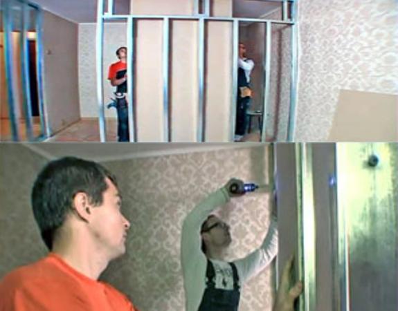 Стены из гкл своими руками мастер класс 67