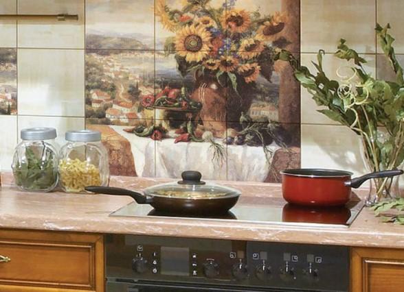 Настенное панно кухня