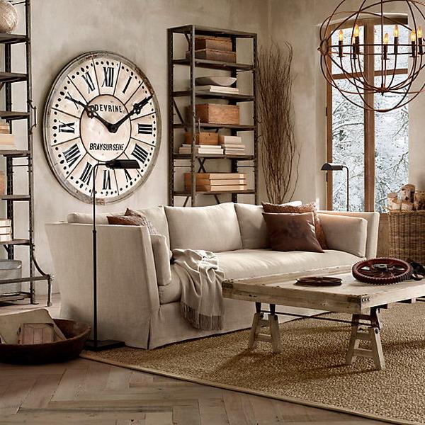 Как оформить настенные часы
